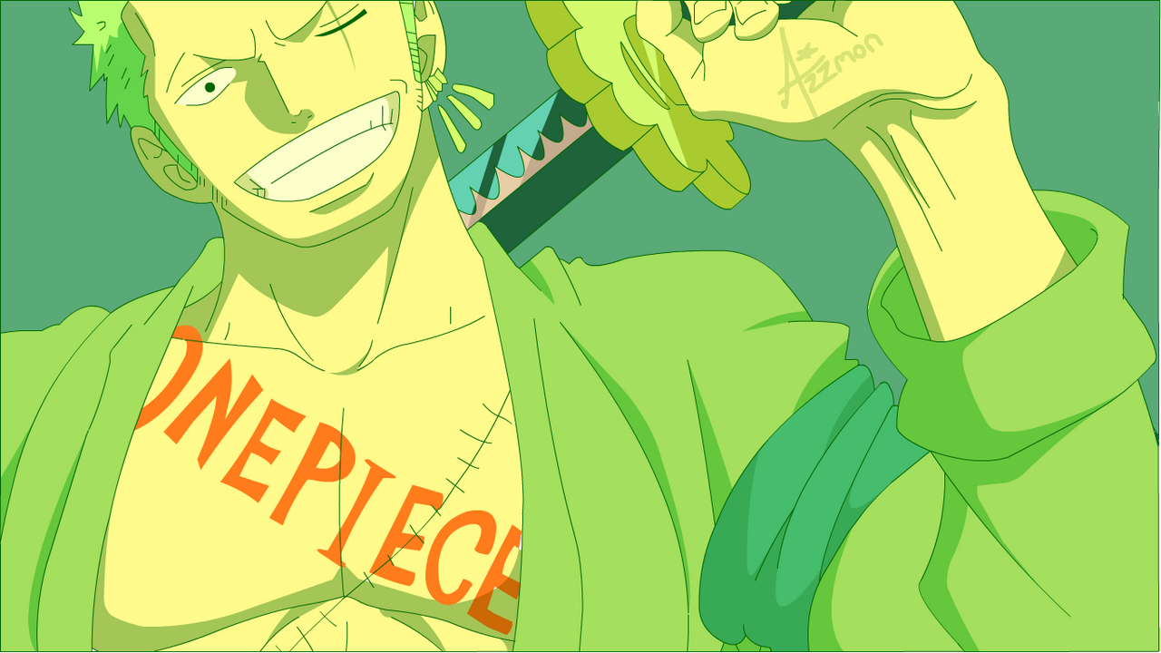 Zoro Time Skip Wallpaper by Azzmon on DeviantArt