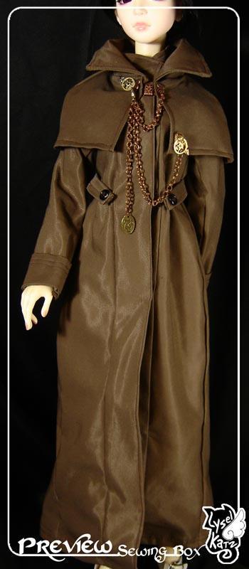 BJD outfit : soft-steampunk007