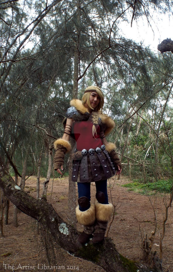 Astrid Hofferson - Agility by TheArtistLibrarian