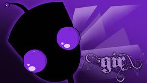 Gir's Shiny Purple Eyes