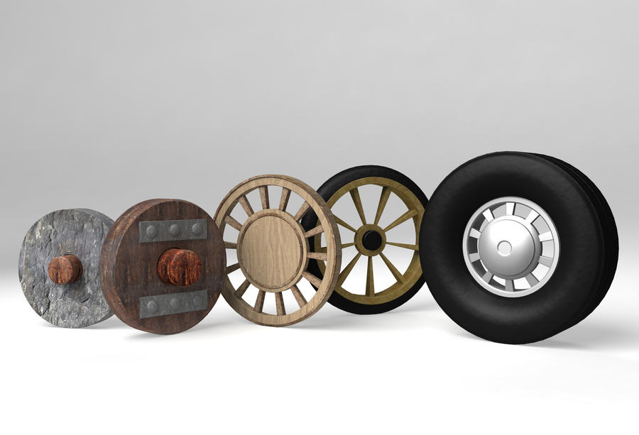 Evolution of the Wheel by Echoes93
