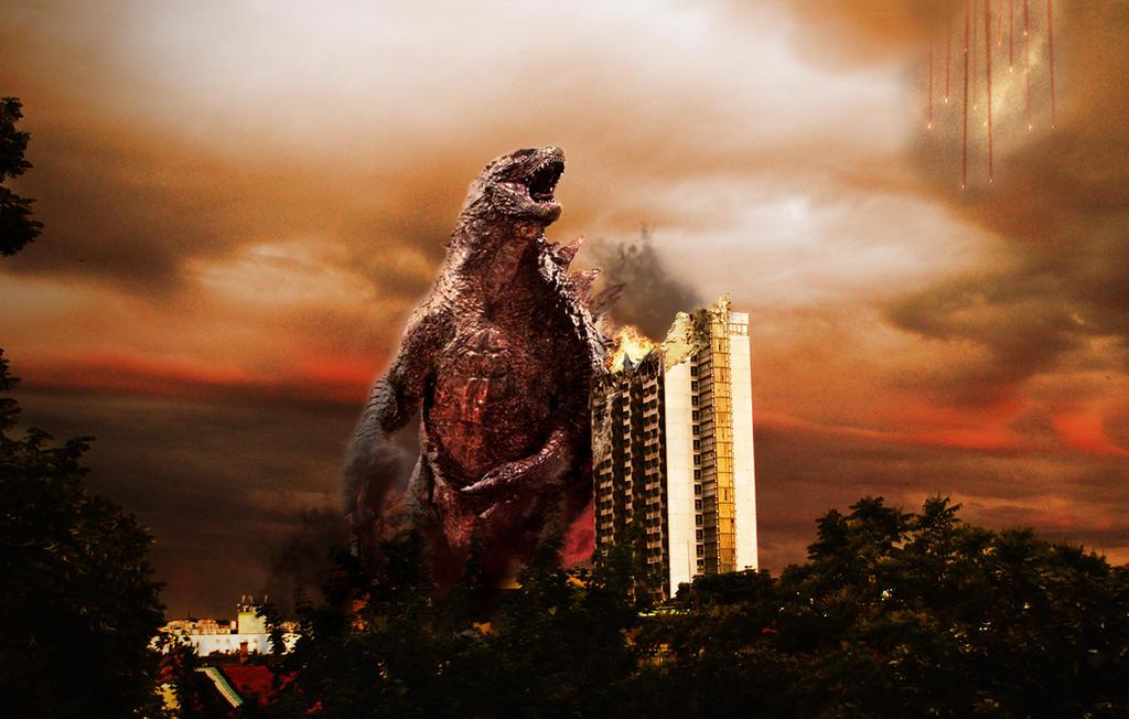 Godzilla in Pecs