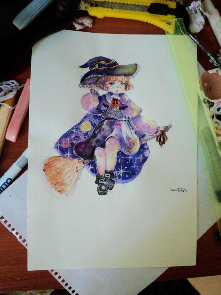 witch by kami-tama