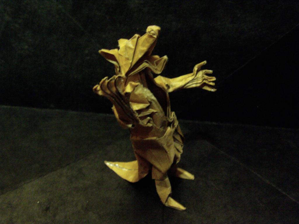 Origami Werewolf Kade Chan By Ximerg On DeviantArt