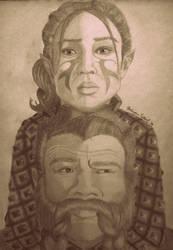 Oghren and Thandien Surana