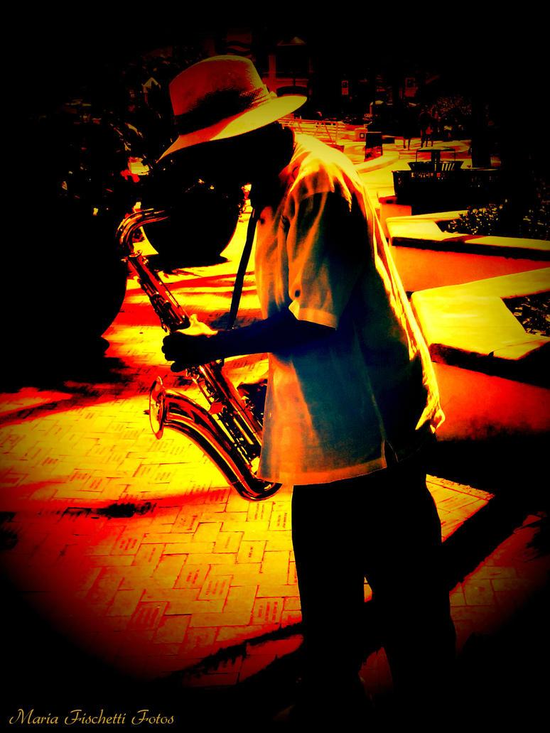 Jazz Man by BklynGirl
