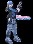 RE5/Biohazard - Jill Valentine BSAA - Render/PNG