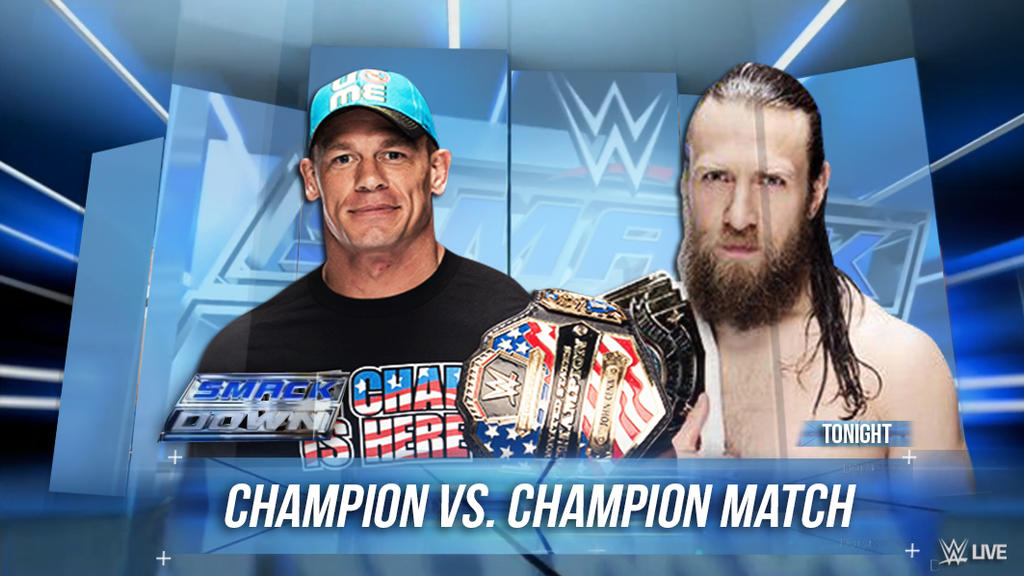 Image result for Smackdown match card