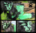 SOLD Vedis the forest guardian lion!