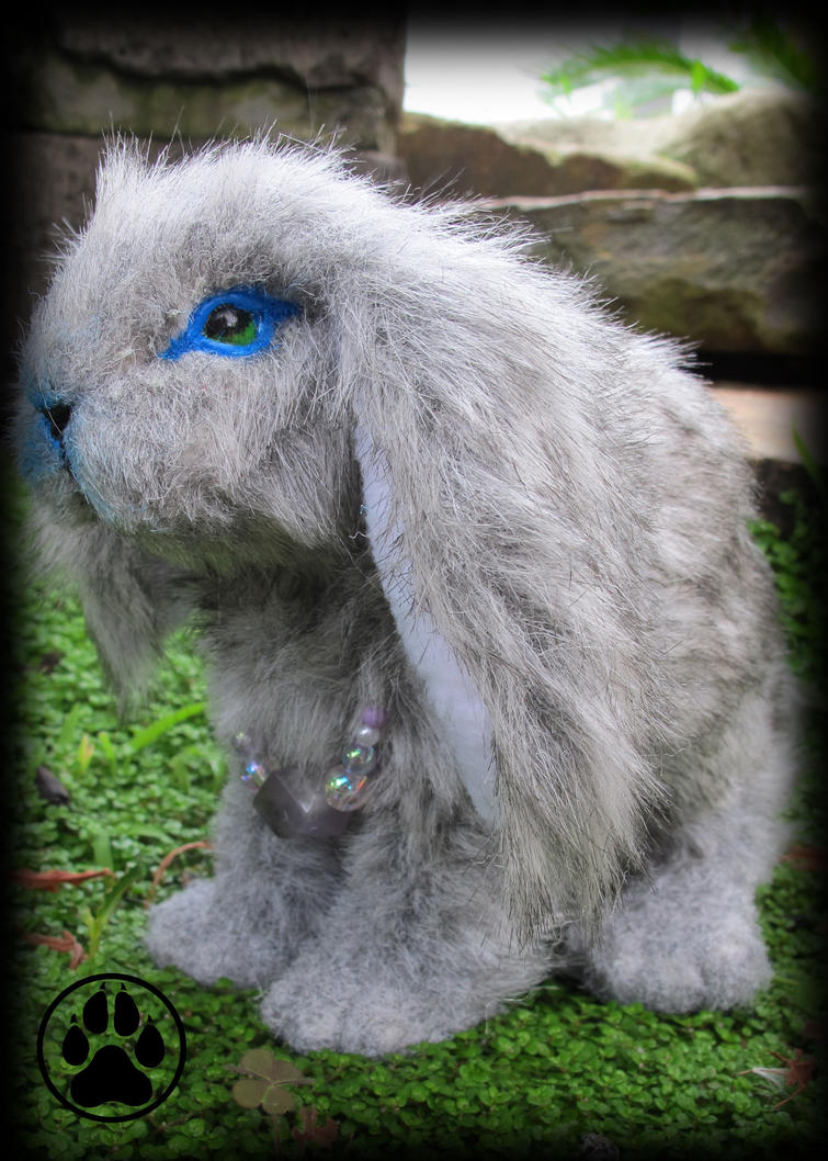 SOLD Mini lop bunny commission poseable artdoll! by CreaturesofNat