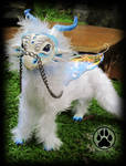 SOLD Dragon commission poseable art doll OOAK!