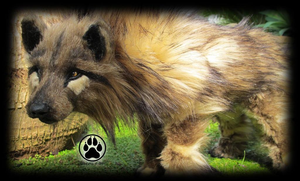 SOLD Wolf commission poseable artdoll OOAK! by CreaturesofNat