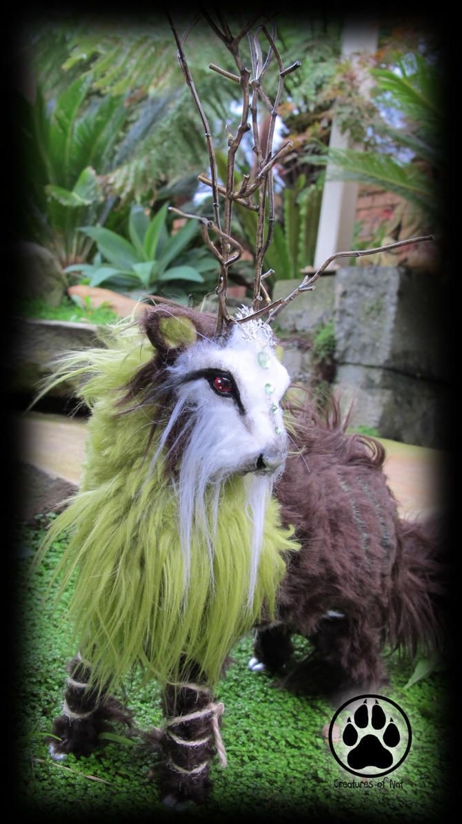 SOLD Asiza the forest mover caribou artdoll! by CreaturesofNat