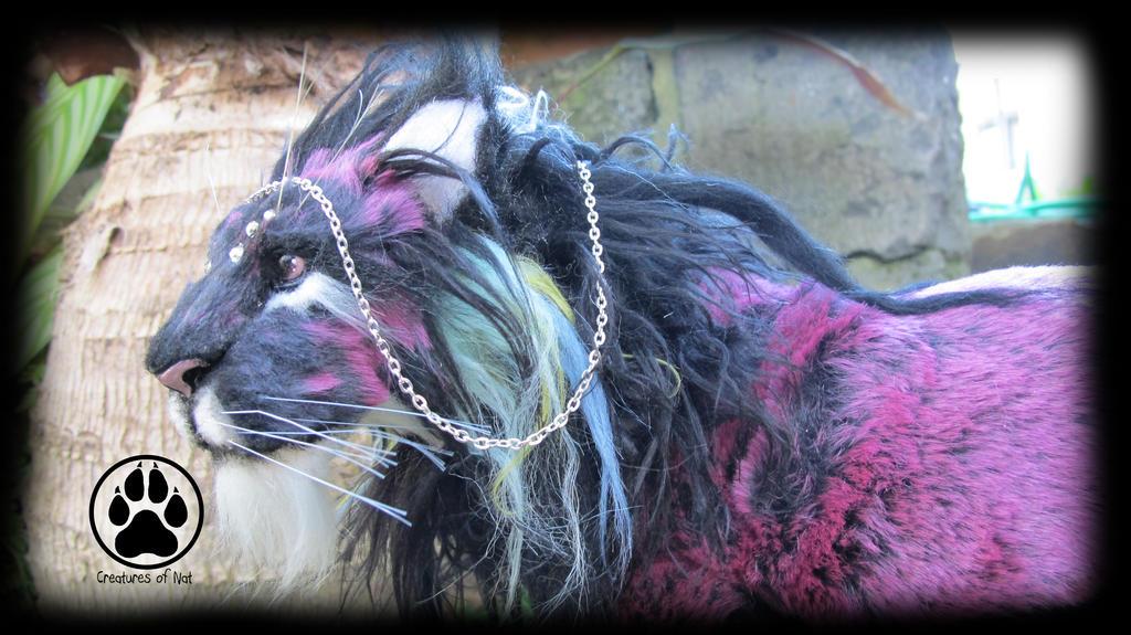 Realis the aurora lion poseable artdoll! by CreaturesofNat