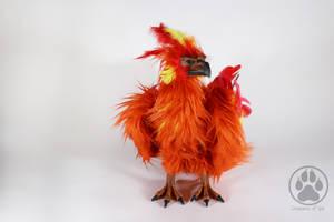 Sold Phoenix commission art doll OOAK! by CreaturesofNat