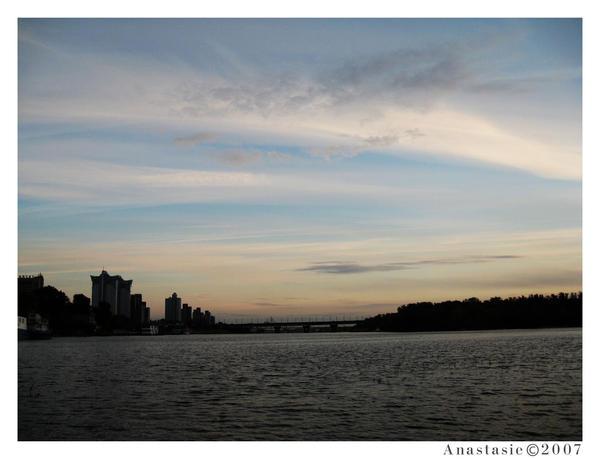 Sky upon Dnepr by AnastasieLys