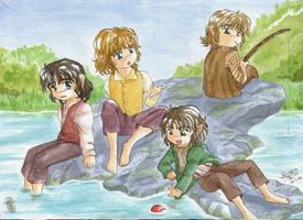 hobbits by Yan-ryu