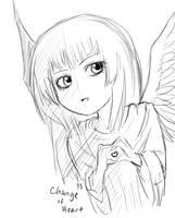 Chibi Change of Heart by suishouyuki