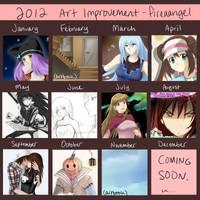 2012 Summary/Art Improvement Meme by suishouyuki