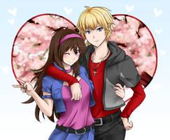 Commission - Aden and Yuna by suishouyuki