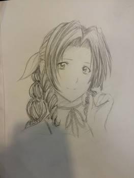 Aerith by suishouyuki