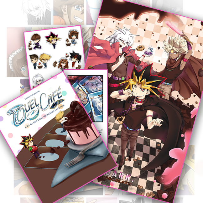 Duel Cafe Art Book - ALMOST GONE! by suishouyuki