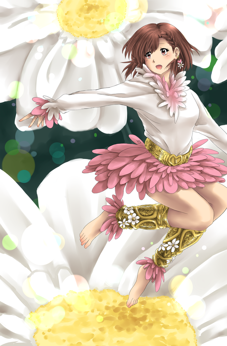 [2014] Flower Girl by suishouyuki