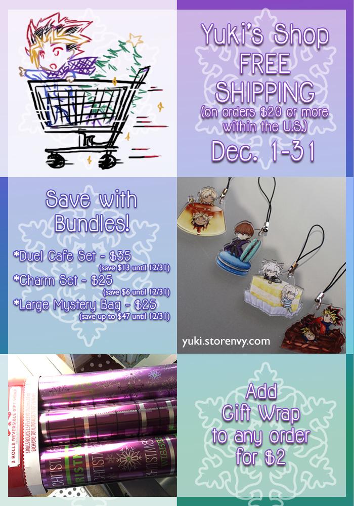 December 2016 Free Shipping Promo by suishouyuki