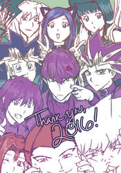 Thank you, 2016! by suishouyuki