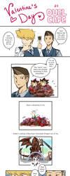 Valentine's Day at Duel Cafe by suishouyuki