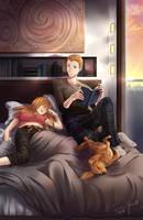 Commission - Cozy by suishouyuki
