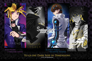 Yu-gi-oh! Dark Side Of Dimensions Bookmarks by suishouyuki