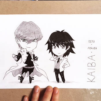[JAMPcon CM] The Kaiba Bros by suishouyuki