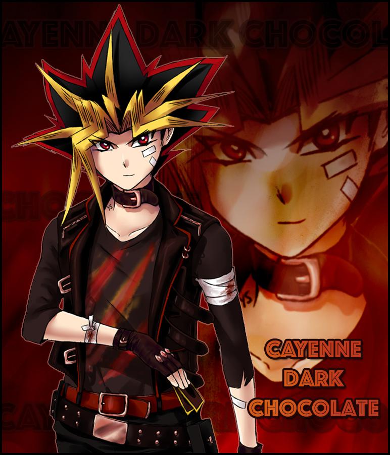 Duel Cafe Flavors: Cayenne Dark Chocolate by suishouyuki