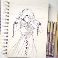 Inktober 2017 Day 2: Spooky by suishouyuki