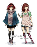 Urami Fall+Winter by suishouyuki