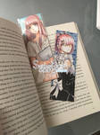 Handmade Bookmarks (Ram and Rin)