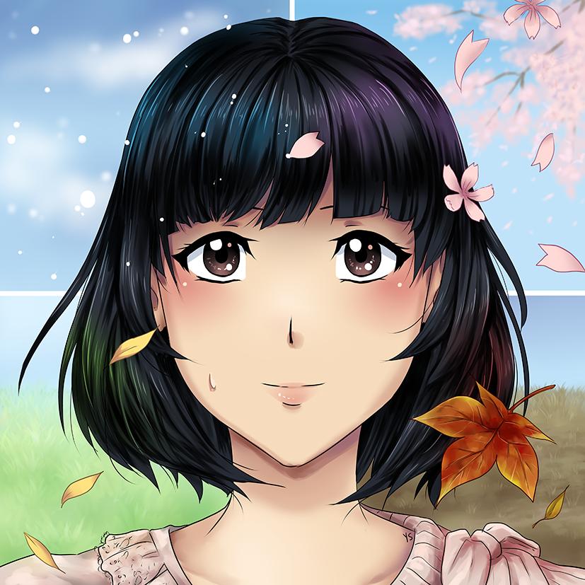 Four Seasons by suishouyuki