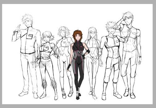 (WIP) Missing Haruka File 1 Crew