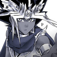 Commission - From Atem to FairyofThunder22 by suishouyuki