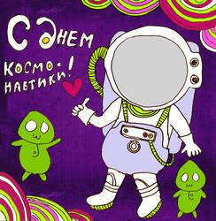 Happy Cosmonaut's Day