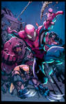 Avenging Spider-Man Colors