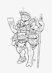 Donatello lineart