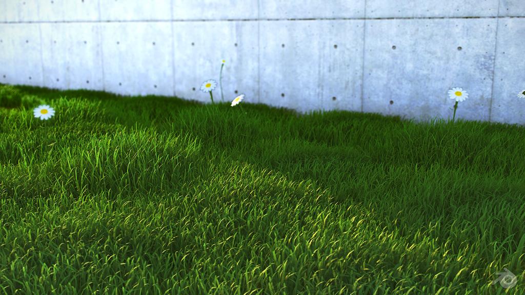 Grass with Blender Render - Finished Projects - Blender Artists