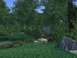 Blender Forest by koolean999