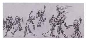 Dragon Age 2 Dance Party by B-Rhombus