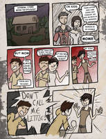 Kid Hawke Comic page 1 by B-Rhombus