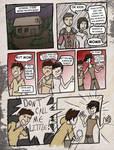 Kid Hawke Comic page 1