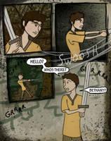 Kid Hawke Comic page 4 by B-Rhombus