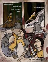 Kid Hawke Comic page 6 by B-Rhombus